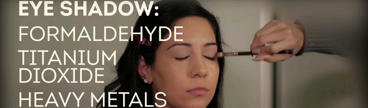 Eye shadow contains formaldehyde titanium dioxide heavy metals and mineral oils